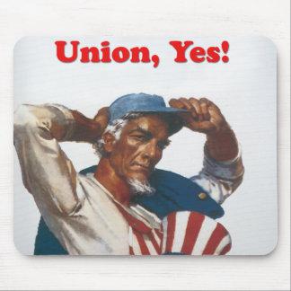 Uncle Sam Union Mouse pad