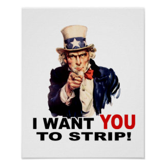 Uncle Sam WANT YOU STRIP Posters