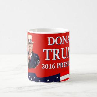 Uncle Sam Wants You Donald Trump 2016 Red Coffee Mug