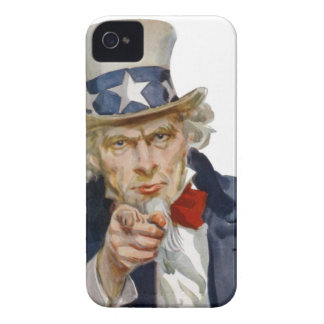 Uncle Sam Wants You iPhone 4 Case-Mate Cases