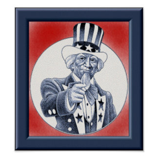 Uncle Sam Wants You Posters