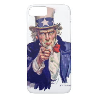 Uncle Sam wants you to vote iPhone 7 Case