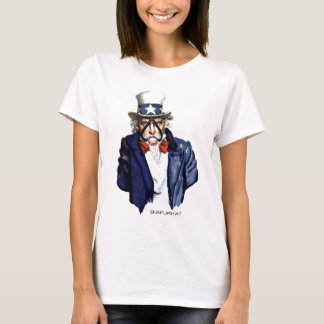uncle-sam with obama gag ball T-Shirt