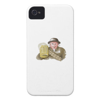 Uncle Sam WW1 Soldier Toasting Beer Watercolor Case-Mate iPhone 4 Cases