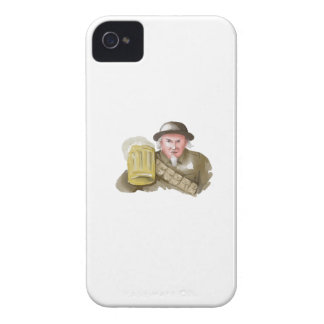 Uncle Sam WW1 Soldier Toasting Beer Watercolor iPhone 4 Case
