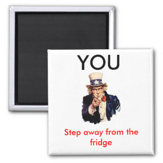 Uncle_Sam_, YOU, Step away Magnet