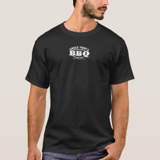 UNCLE TONY'S BBQ BLACK T-SHIRT