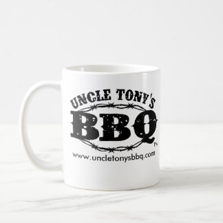 Uncle Tony's BBQ Coffee Mug (Barbed Wire)