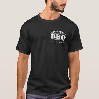 Uncle Tony's BBQ Men's T-Shirt (White Logo)