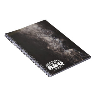 Uncle Tony's BBQ Spiral Notebook