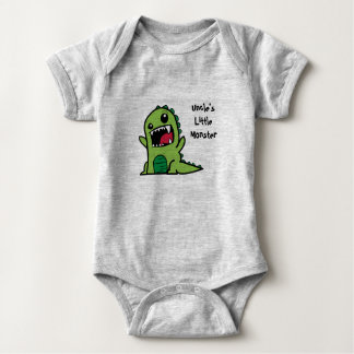 Uncle's Little Monster Baby Vest Baby Bodysuit