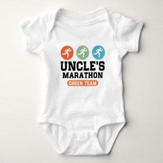 Uncle's Marathon Cheer Team Baby Bodysuit