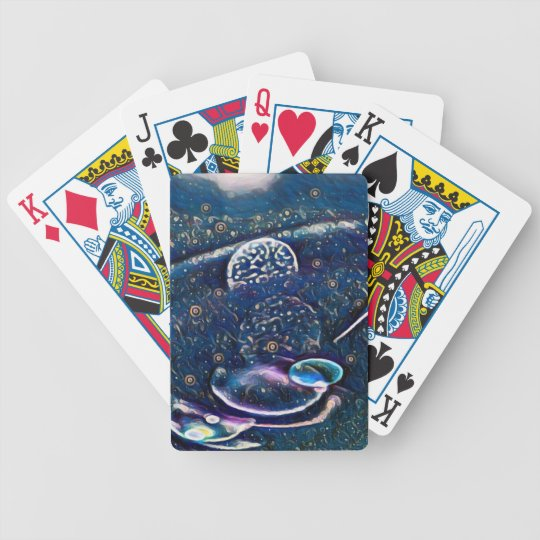 Uncommon Alien Worlds Abstract Photography Bicycle Playing Cards