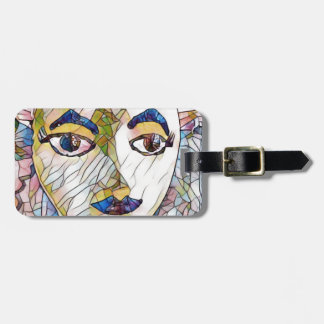 Uncommon Artistic Mannequin Face Luggage Tag