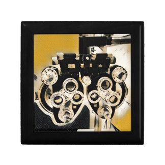 Uncommon  Artistic Optometry Exam Lenses Jewelry Boxes