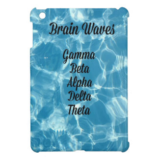 """Uncommon Blue Wavy """"Brain Waves"""" Cover For The iPad Mini"""
