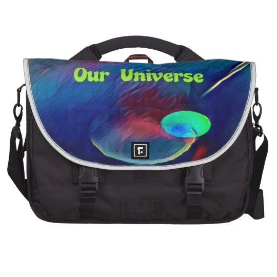 Uncommon Bright Rainbow Our Universe Abstract Commuter Bags