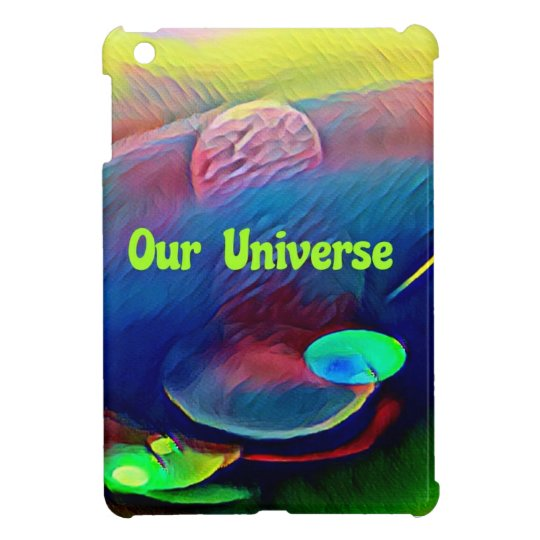 Uncommon Bright Rainbow Our Universe Abstract iPad Mini Case