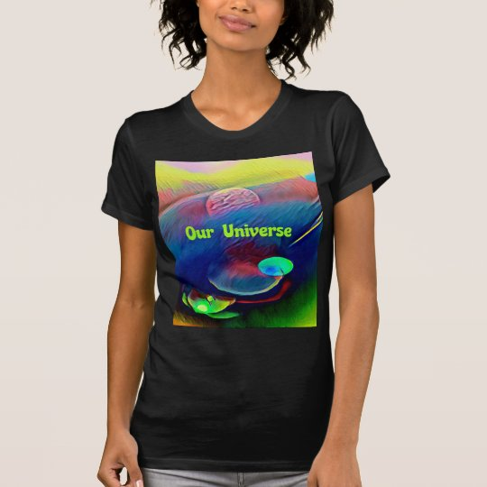 Uncommon Bright Rainbow Our Universe Abstract T-Shirt