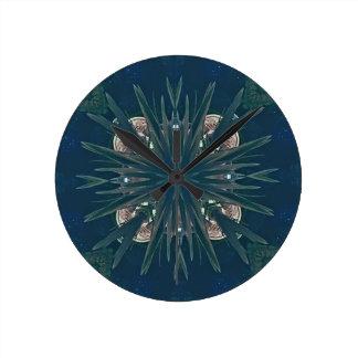 Uncommon Contemporary Artistic Pattern Clock
