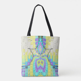 Uncommon Funky Pixelated Classy Travel Tote