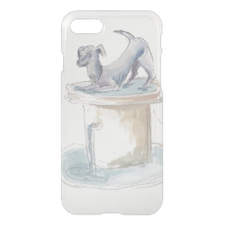 "Uncommon IPhone 7 Clear ""Watercolor Dog"" iPhone 8/7 Case"