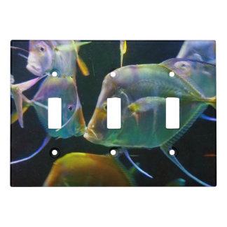 Uncommon Macro Kissing Fish Natural Habitat Light Switch Cover