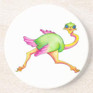 Uncommon Ostrich Coaster
