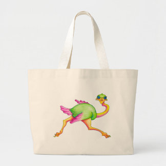 Uncommon Ostrich Large Tote Bag