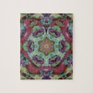 Uncommon Rich Colored Modern Abstract Jigsaw Puzzle