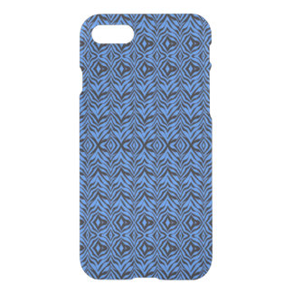 Uncommon's Clearly™ Deflector Case - Blue Zebra