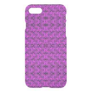 Uncommon's Clearly™ Deflector Case - Pink Zebra