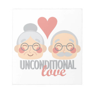 Unconditional Love Notepads