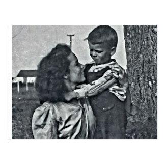 Unconditional love… postcard