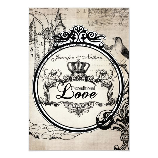 Unconditional Love RSVP Card