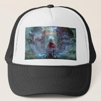Uncontainable to necromancer trucker hat