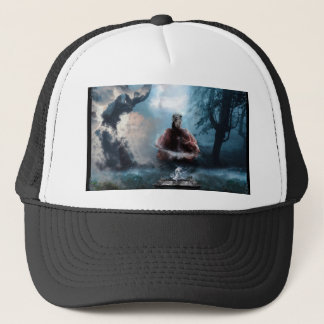 uncontainable wicked trucker hat