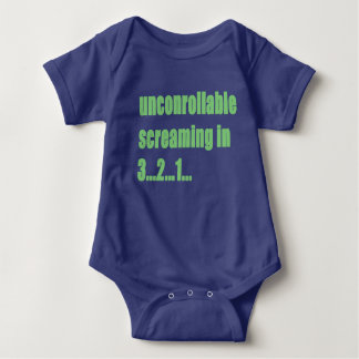 Uncontrollable Screaming Baby Bodysuit