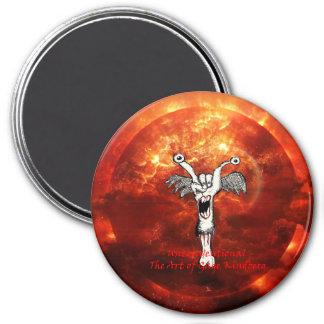 """Unconventional"" Round Magnet"