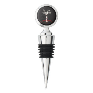 """""""Unconventional"""" Wine Stopper (with lettering)"""