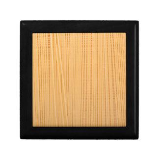 Uncooked spaghetti gift box