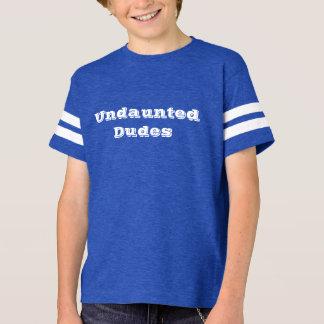 Undaunted Dudes football T-Shirt