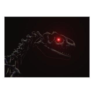 Undead Dinosaur Photographic Print