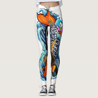 Undead Koi Leggings
