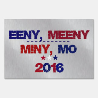 Undecided 2016  Funny Election Sign