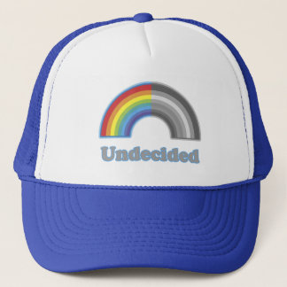 Undecided Rainbow Trucker Hat