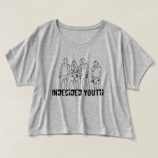 Undecided Youth crop top