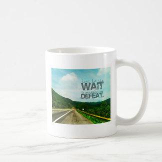 Undefeated Classic White Coffee Mug