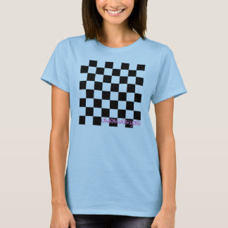Under 21 Blue Checkered T-Shirt