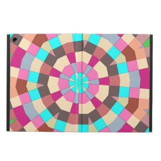 Under a parasol colorful tiles pattern cover for iPad air